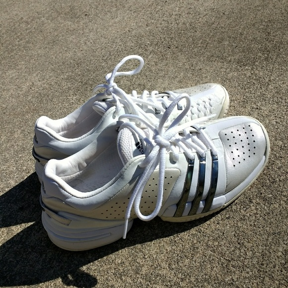adidas barricata 60 donne bianche scarpa da tennis poshmark